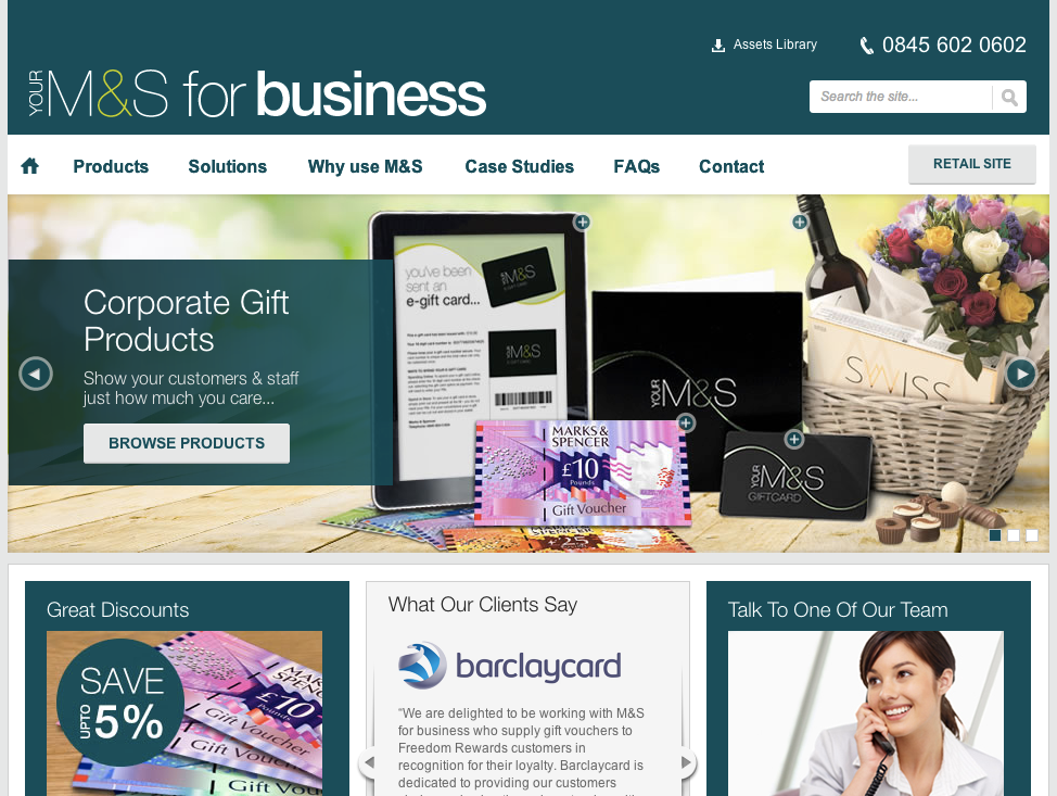 M&S Business